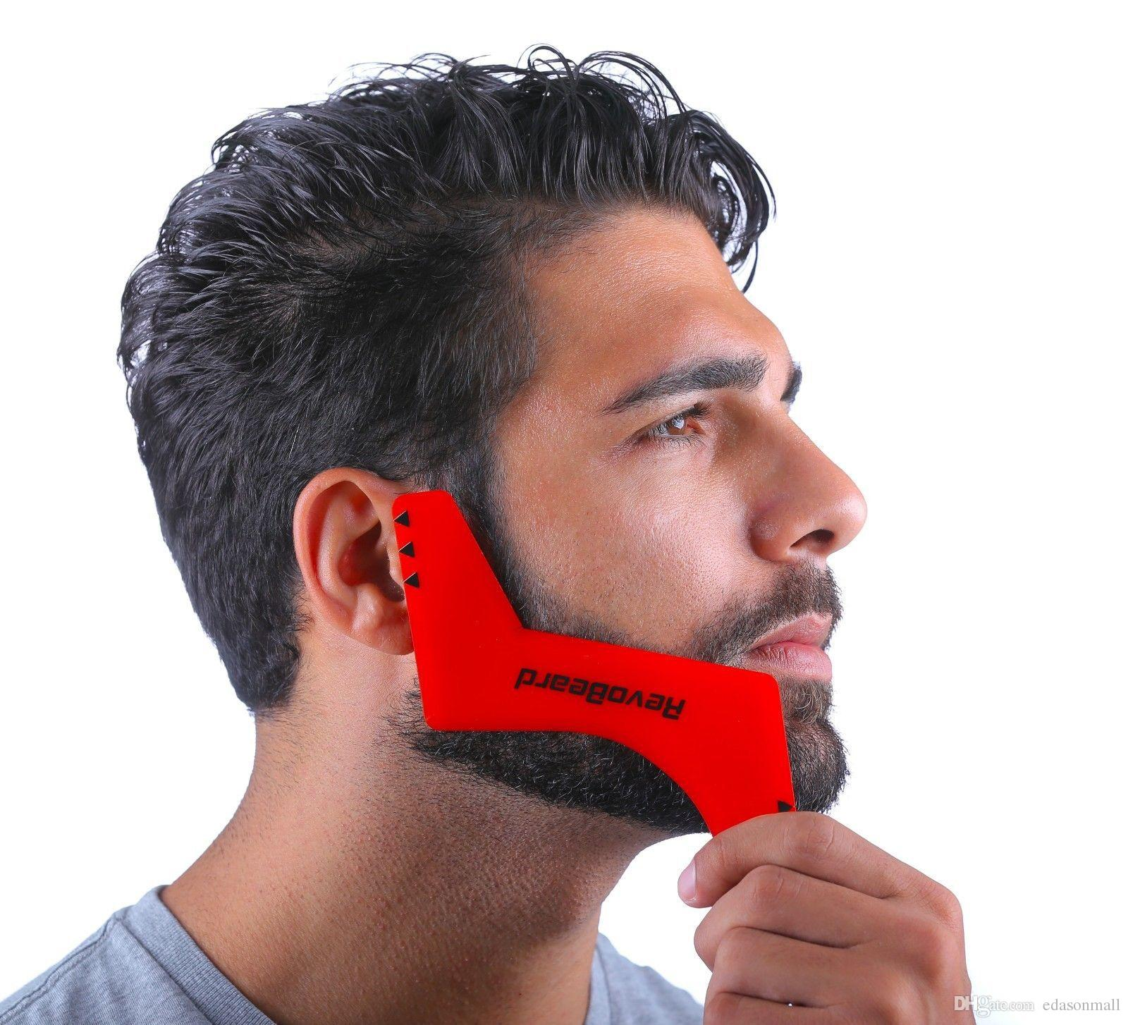 2019 New Hot Professional Comb For Men Beard Hair Shaving Beard