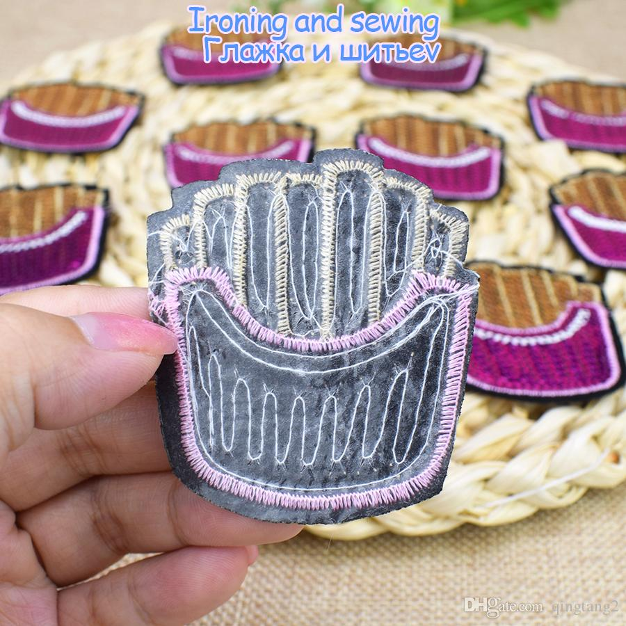Sequined Chips Patch for Clothing Bags Iron on Embroidery Patches for Jeans DIY Fabrics for Patchwork Sew on Sequins