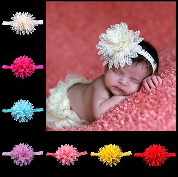 Kant hoofdbanden kinderen haarbanden kinderen bloem haar dingen baby haaraccessoires mode