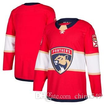 Wholesale Nhl Hockey Jerseys Cheap Mens Florida Panthers Red Home Authentic  Blank Jersey Store Usa Sports Ice Hockey Blank Wholesale Personalized Kids  By ... 2b1d273fd