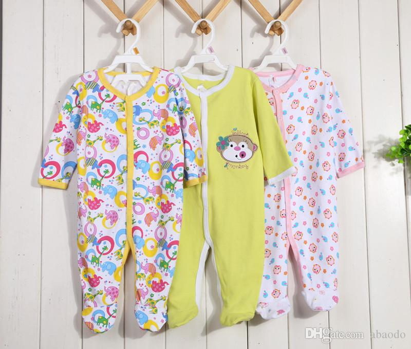 AbaoDo new arrival sleepsuit baby rompers 100% cotton infants bodysuit long sleeve kids clothing wear drop shipping