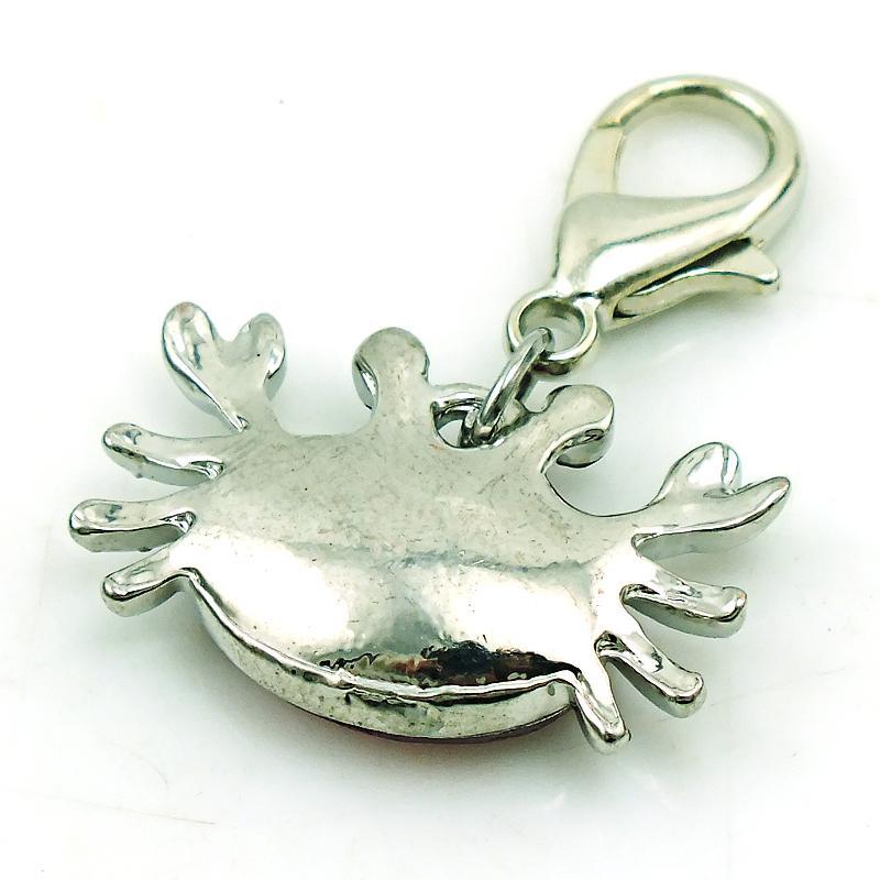 Massen-sich hin- und herbewegender Hummer-Haken-Charme-Silber überzogene Plastikkristallkrabben-Tier-Charme für Schmuck DIY, der Zubehör herstellt