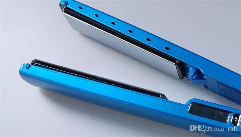 Yüksek Kalite PRO 450F 1 1/4 plakalar bebek liss plaka Saç Düzleştirici Doğrultma Ütüler Düz Demir DHL ücretsiz hızlı gemi
