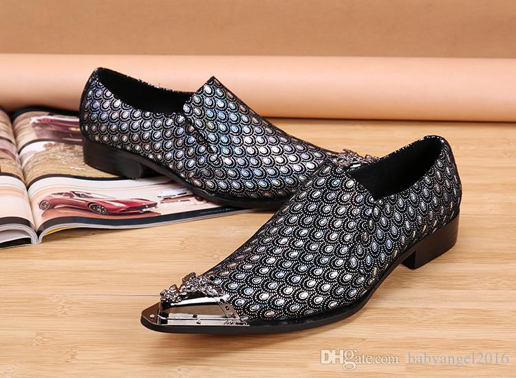 İtalyan Lüks Düğün Ayakkabı Erkekler Resmi Takım Elbise Hakiki Deri Erkek ayakkabı Erkekler için Ünlü Marka Erkek Flats Oxford Ayakkabı AB Boyutu 46