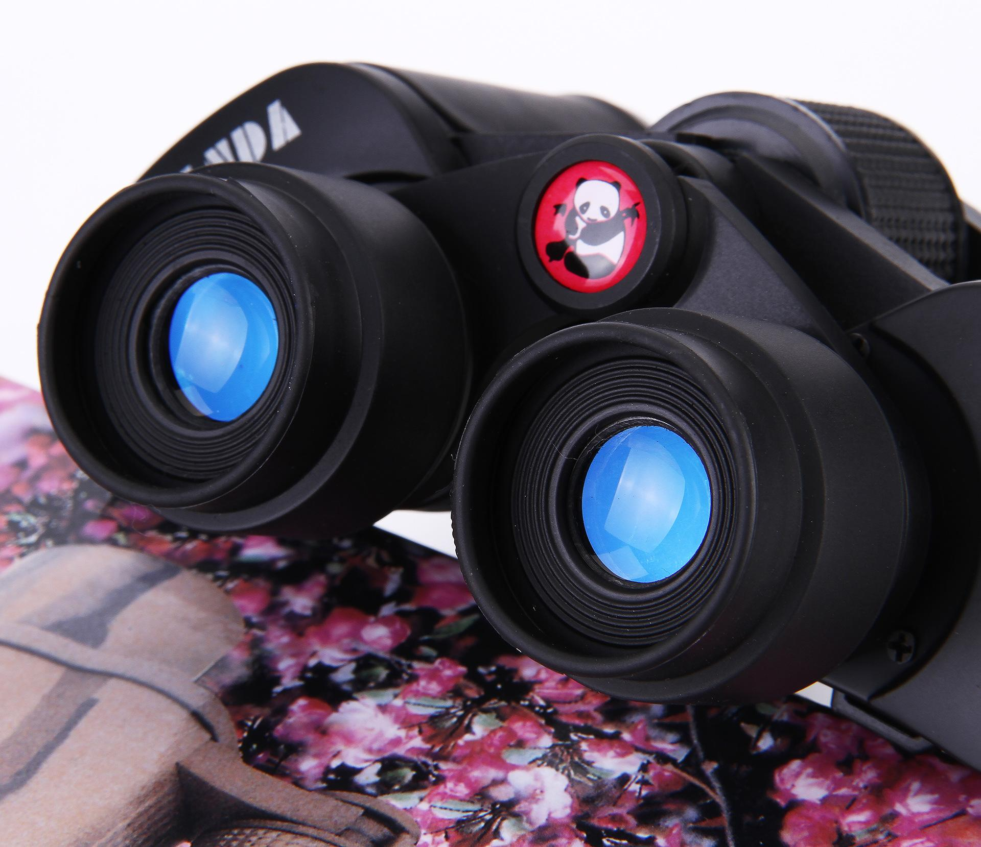 brand 20X50 Binoculars High quality Hd wide-angle Central Zoom day and Night Vision Not infrared telescope