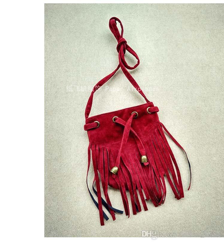 Borse a tracolla della spiaggia della Boemia Borsa a tracolla bambini Borsa a tracolla bambini Borsa a tracolla borse a tracolla in tinta unita 2016 Nuove borse in pelle borse da donna
