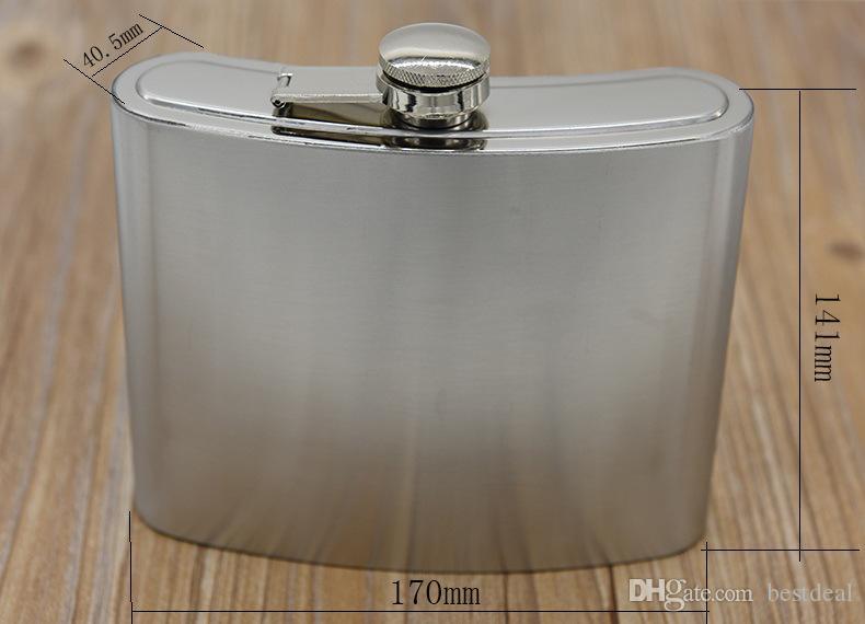 32 oz HIP-kolv Rostfritt stål Höftflaskor med fri tratt Portabel Flagon 32 ounce Whisky Alkohol Stup Vinpot 2018 Ny sökning
