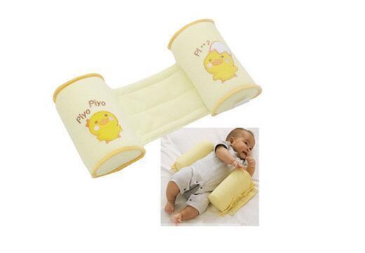 Comodo cotone anti-rotolo cuscini adorabile bambino bambino cassaforte cartone animato sonno testa posizionatore anti-rollover baby lettino