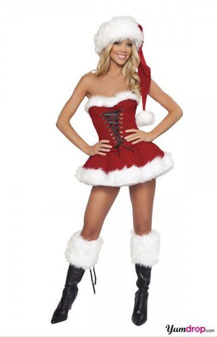 Compre Disfraz De Señorita Santa Claus Mujer Señora Papá Navidad Disfraz De Navidad Traje Zl708 A 1599 Del Tengyan825 Dhgatecom