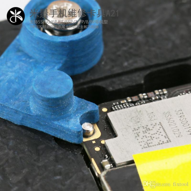 Mais novo multi-purpose MJ A21 telefone móvel motherboard luminária de manutenção para ipnone 5S / 6/6 P / 6 S / 6 SP / 7/7 SP / 8/8 P