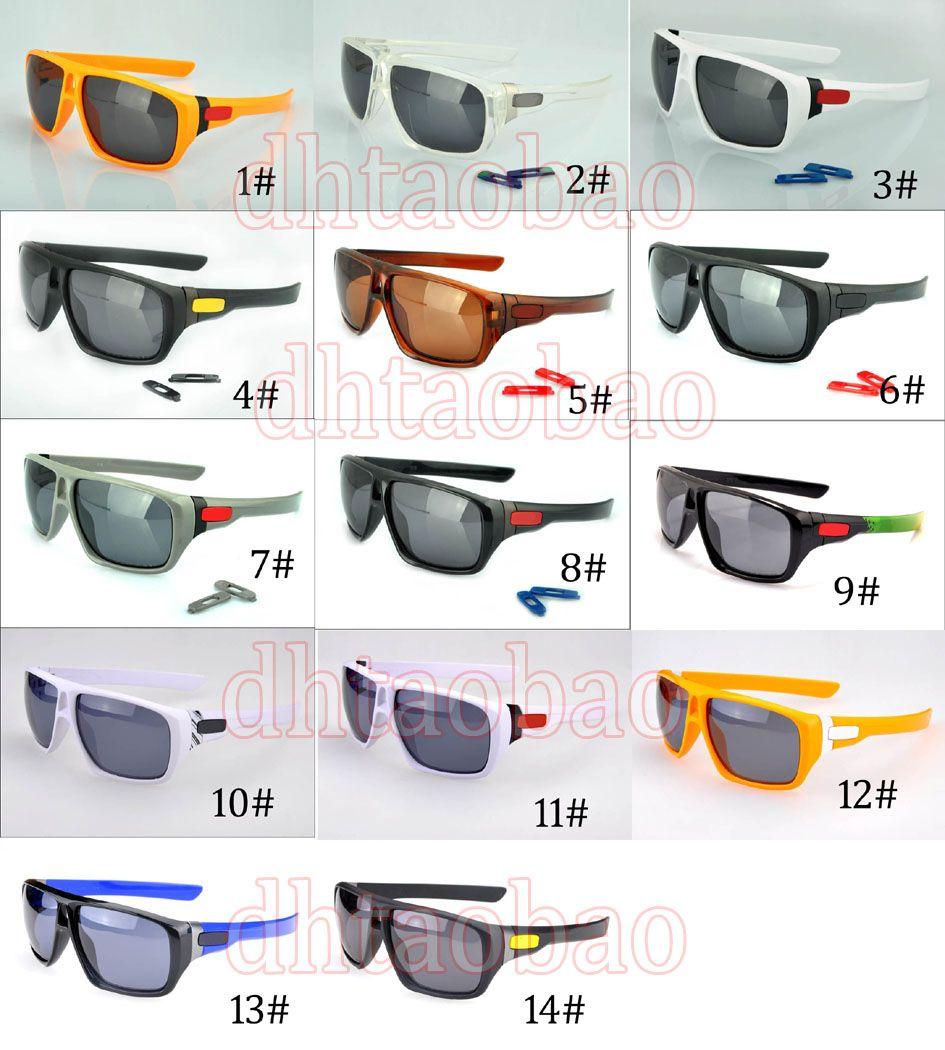 Высокое качество унисекс классический квадратный ретро поляризованных солнцезащитных очков + Чехол Goggle открытый Велоспорт пляж очки 14 цветов Бесплатная доставка