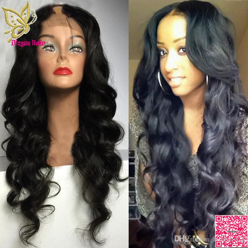Human Hair U Part Wigs Loose Wave Virgin Indian Unprocessed Remy Human Hair Upart Wig Wavy Middle Part For Black Women