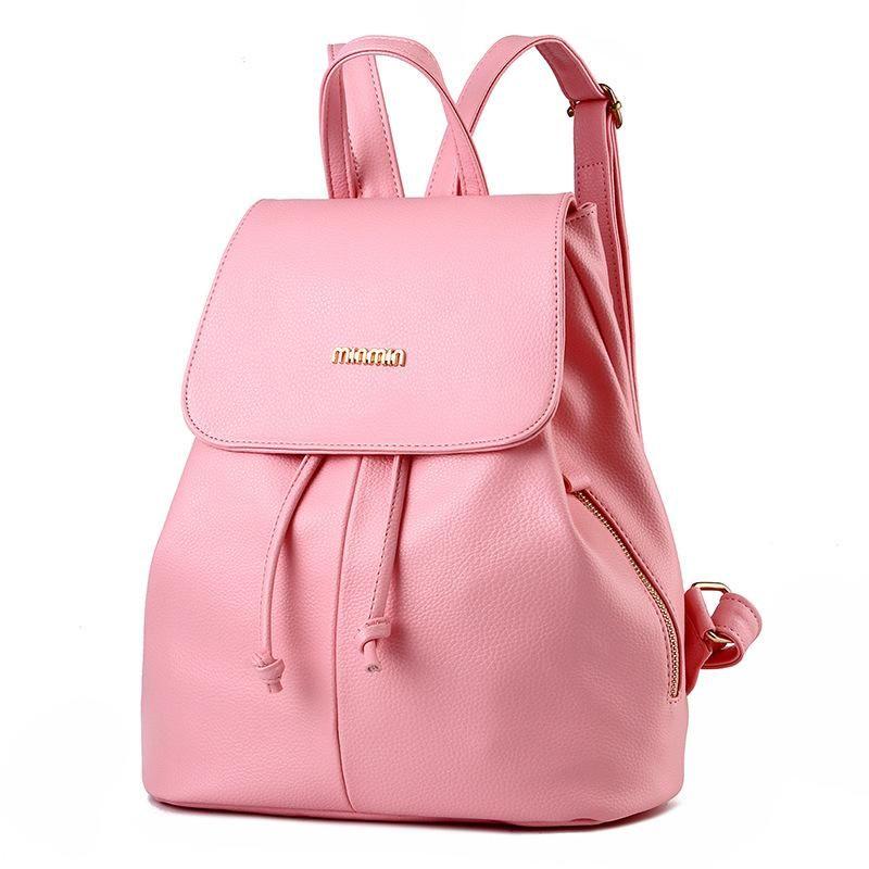991f57831b Students Backpack Women Designer Backpacks College PU Leather Girl Cute  Fashion Ladies Shoulder Bag Handbags Knapsack Travel Bags Small Backpack  Backpack ...