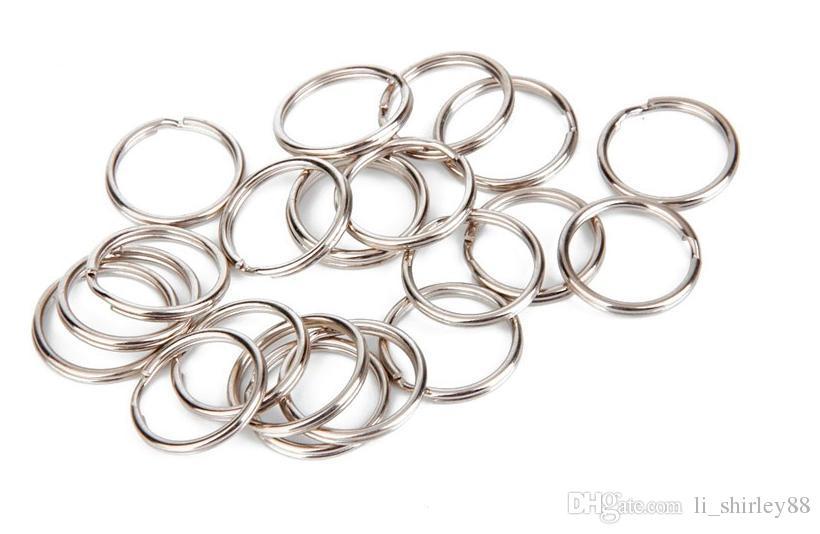 Schlüsselanhänger Schlüsselanhänger Marinequalität Schlüsselanhänger Split Ring Connector 20mmx10