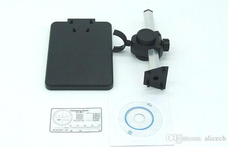 Fábrica al por mayor más nuevo 500X, 800X, 1000X USB Microscopio Digital + 8-LED Endoscopio con software de medición microscopio usb
