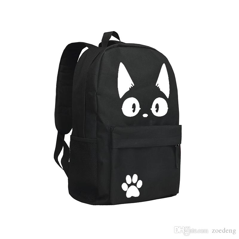 Kiki's Delivery Service Bcakpacks Cute Cartoon Children Schoolbag Boys and Girls Bookbag