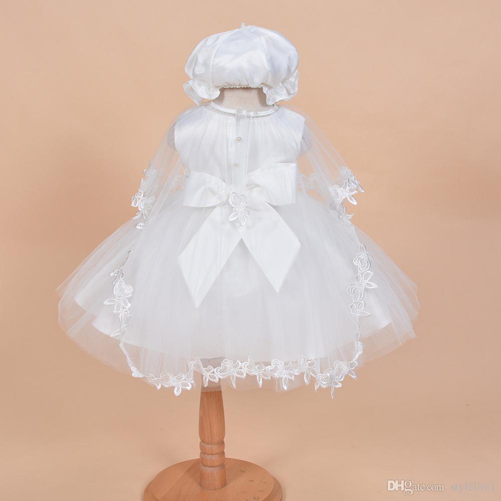 Großhandel Taufkleid Baby Vollmond Einhundert Tag Prinzessin ...