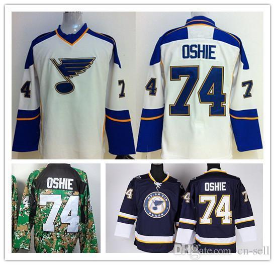 35e28854a5a6 Hot 74 TJ Oshie Jerseys Wholesale St.Louis Blues Oshie Ice Hockey ...