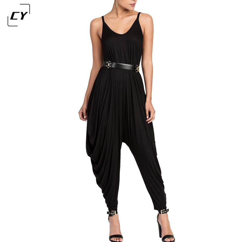 115c40a2973 2019 Wholesale Women Jumpsuits Rompers 2017 Women Sexy Spaghetti ...