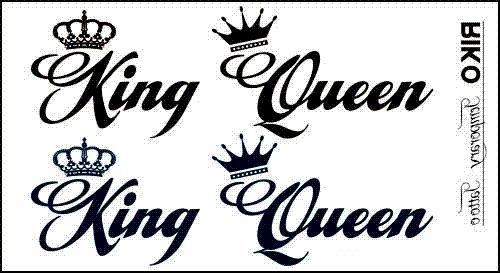 King And Queen Font By Weknow: Tatouage King