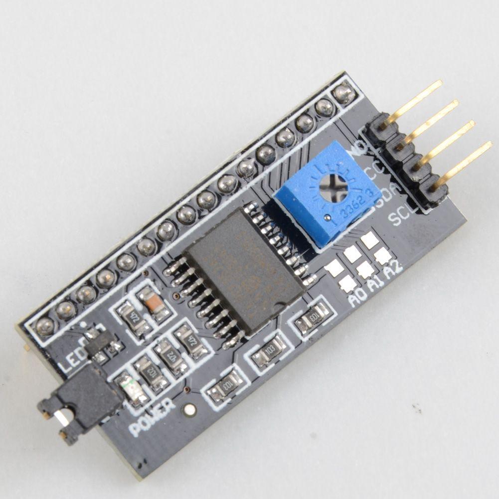 Port de module de carte d'interface série IIC / I2C / TWI pour écran LCD Arduino 1602 B00146 BARD