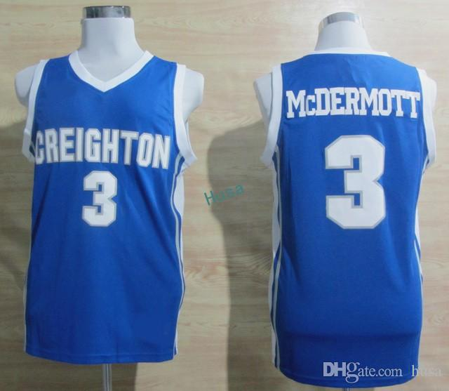 Creighton Bluejays #3 Doug McDermott Blue Jersey