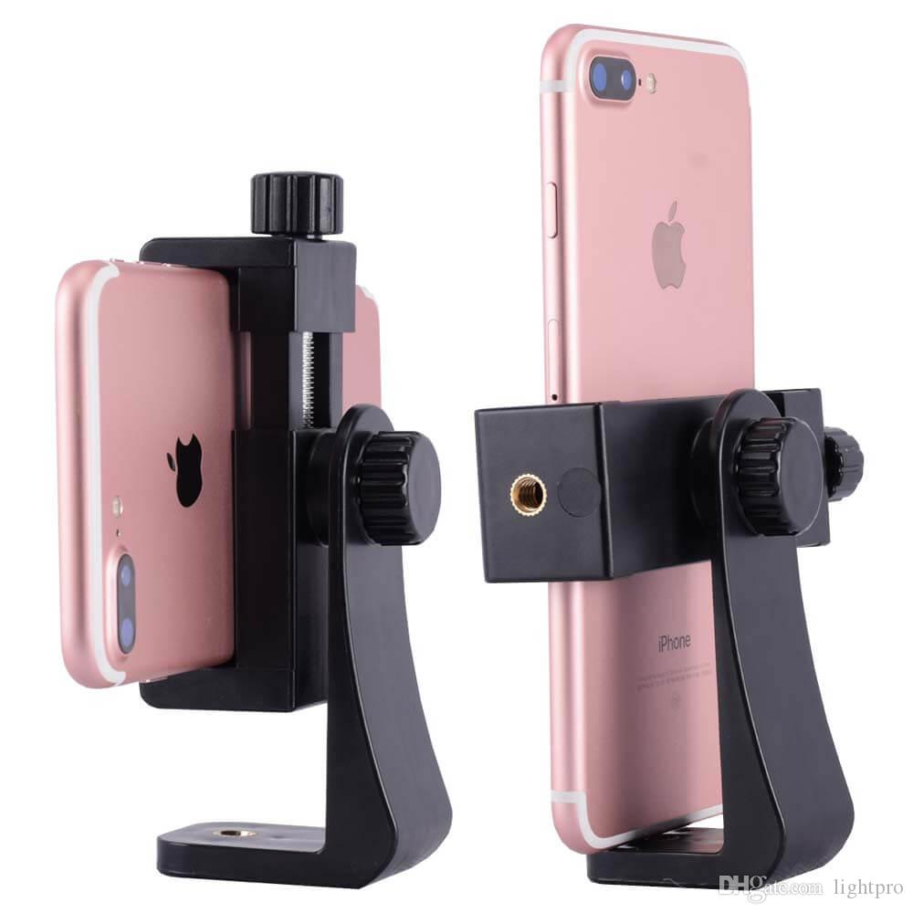 2018 ightpro universal cell phone tripod mount clamp clip adapter