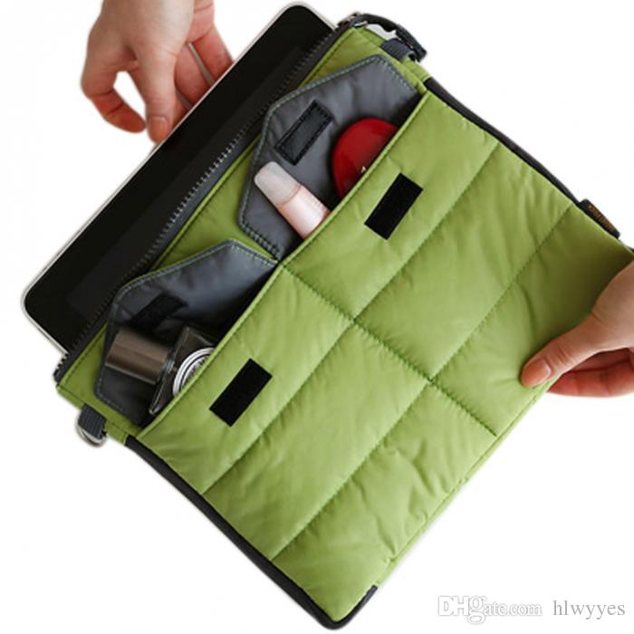 Wholesale- Organizer Sleeve Pouch Storage iPad Bag Travel Ipad Mini Soft With Handles HB88