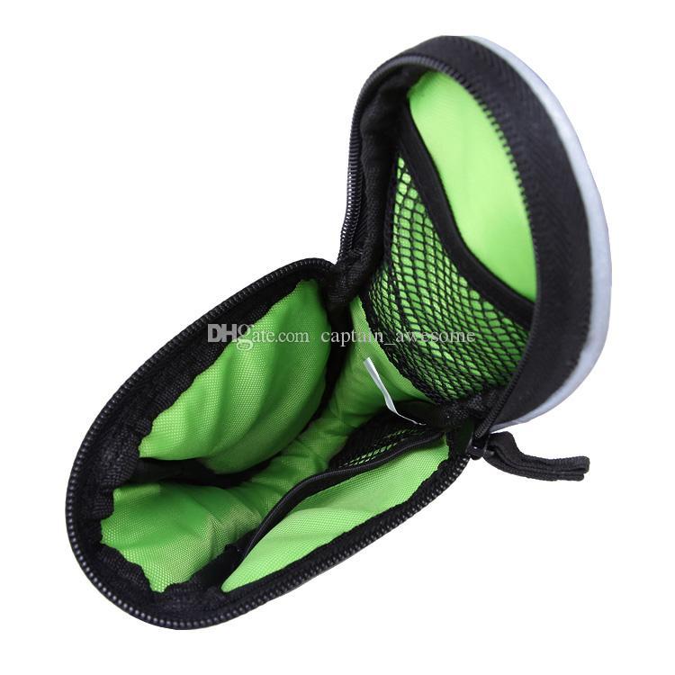 Ciclismo bicicleta sela saco de assento traseiro impermeável ao ar livre bolsa com tira reflexiva liberação rápida frete grátis