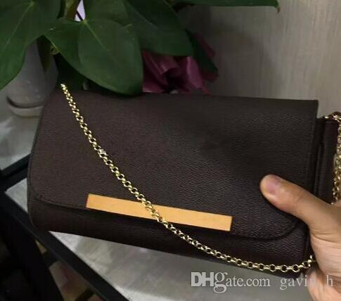 b8918bfa15 Newest Style Fashion Famous Women Handbags Genuine Leather Chain ...