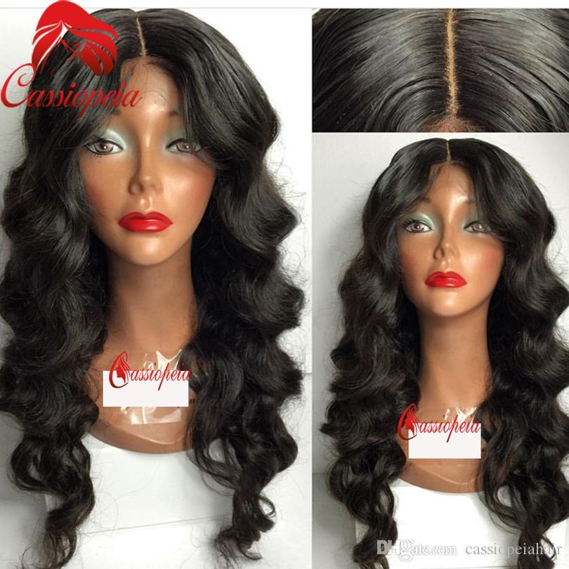 Объемная волна полные парики шнурка для чернокожих женщин 8A Glueless человеческих девственных волос кружева передние парики свободная часть Малайзии полный кружева волна парики