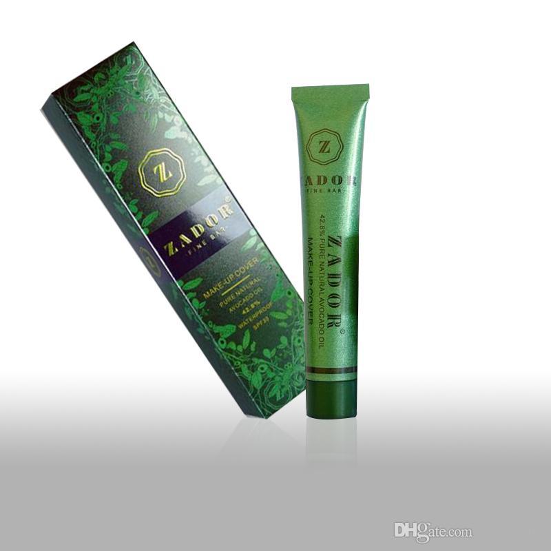 Discount Price Zador Fine Bar Makeup cover Pure Natural Avocado Oil Professional Face Concealer Makeup Base for Christmas