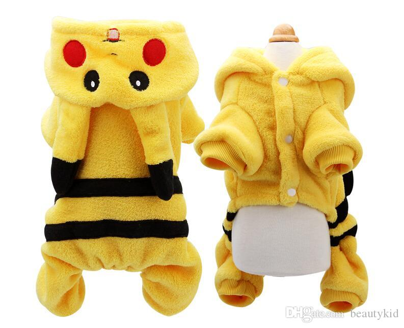 pikachu dog costumes