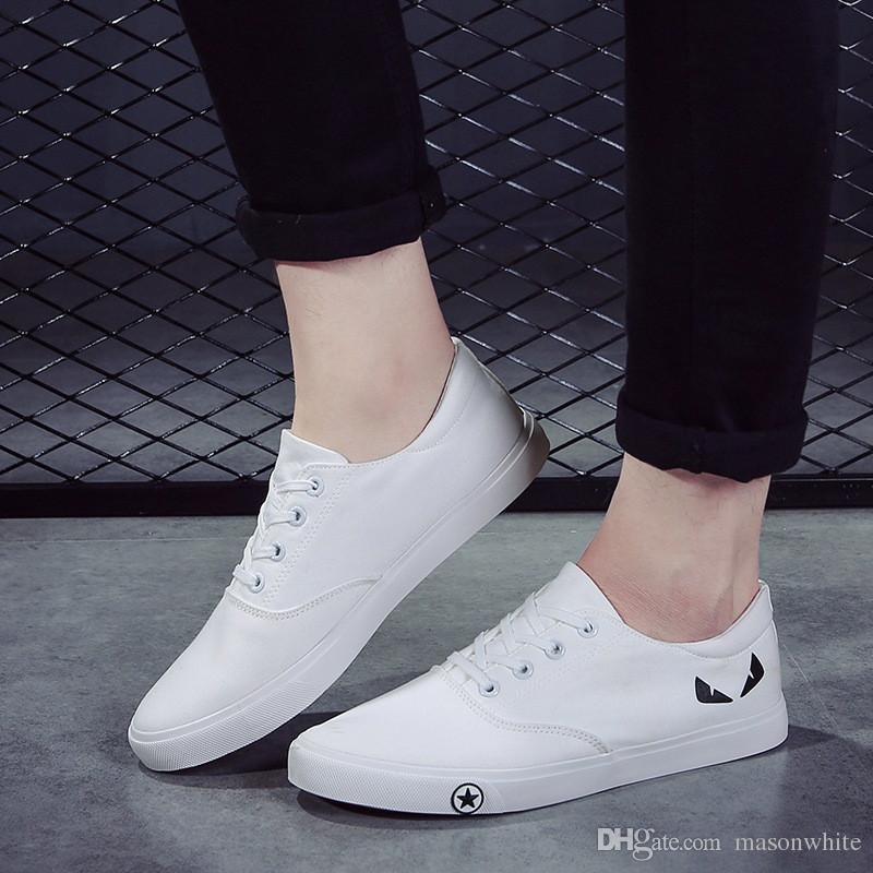 5d10f449ec254 Awesome Fashion Canvas Shoes Cool Casual Sneakers For Men Women Leisure  Shoes Pure Color Travel Shoes For Holiday Wholesale Price Comfort Shoes  Sneakers ...
