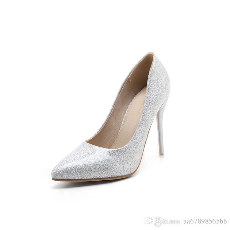 spitzen Zehen Stilettos Schuhe für Damen Damen