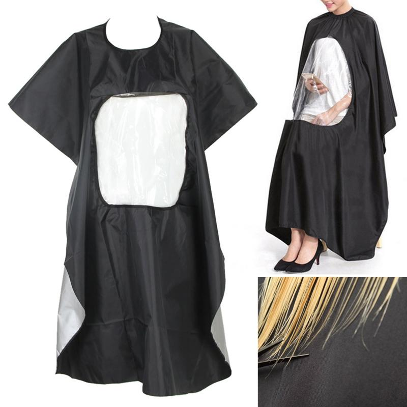 Pvc Waterproof Professional Salon Haircut Styling Cape Anti-static Hair Dying Wrap Apron Hairdresser Stylist Barber Shop Accesso Hair Care & Styling