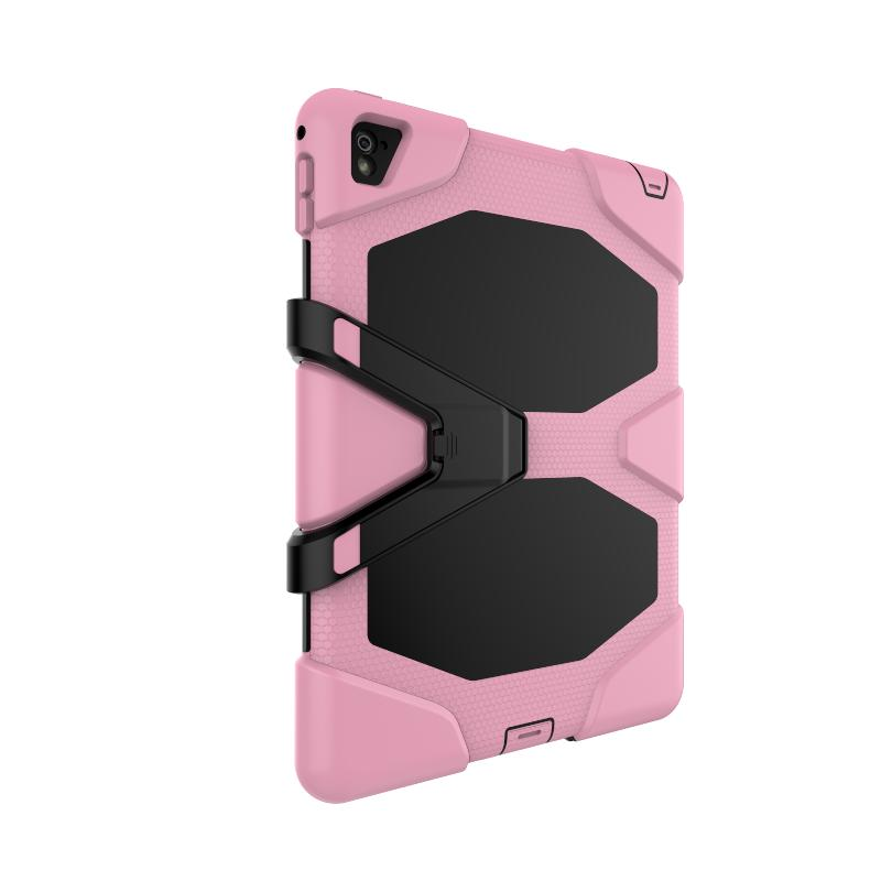 Tablet PC-Hülle für iPad Pro 9.7inch Military Extreme Heavy Duty Stoßfest Hülle mit Screen Protector Kickstand Stand Case Deckung