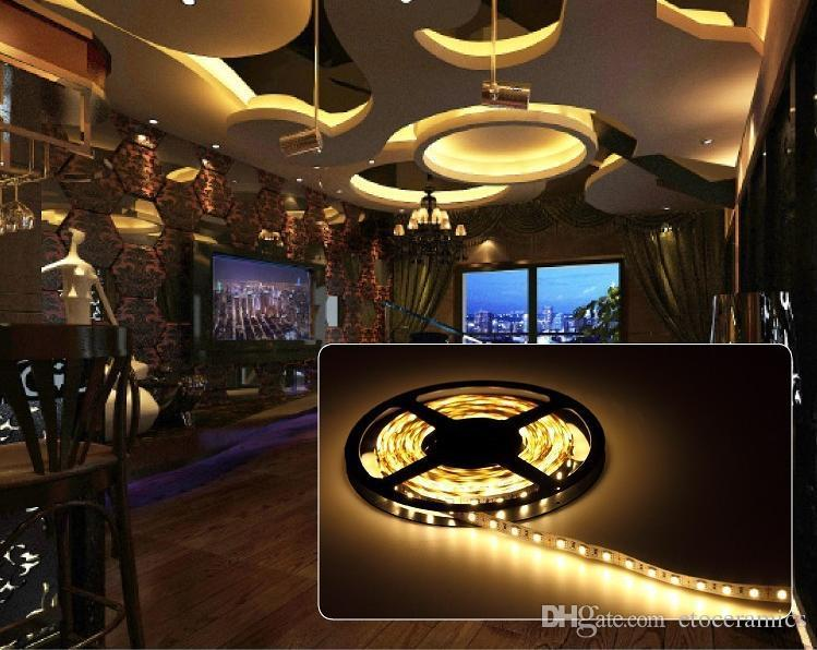 manufacturer sale LED Strip Light 3528/5050 SMD RGB/White/Warm/Green/Red Waterproof/nonWaterproof 300LEDs 3000 LM Flexible Single Color