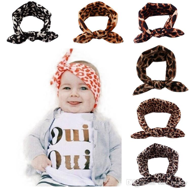 15% off! 2016 new Rabbit Ears knot elastic Hair bands Tie Bow Headbands Hair Hoop Stretch Knot Bow Cotton baby headbands Accessories 50pcs/