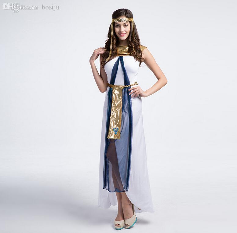 2017 Wholesale 2016 Fairy Greek Goddess Costumes Egyptian ...