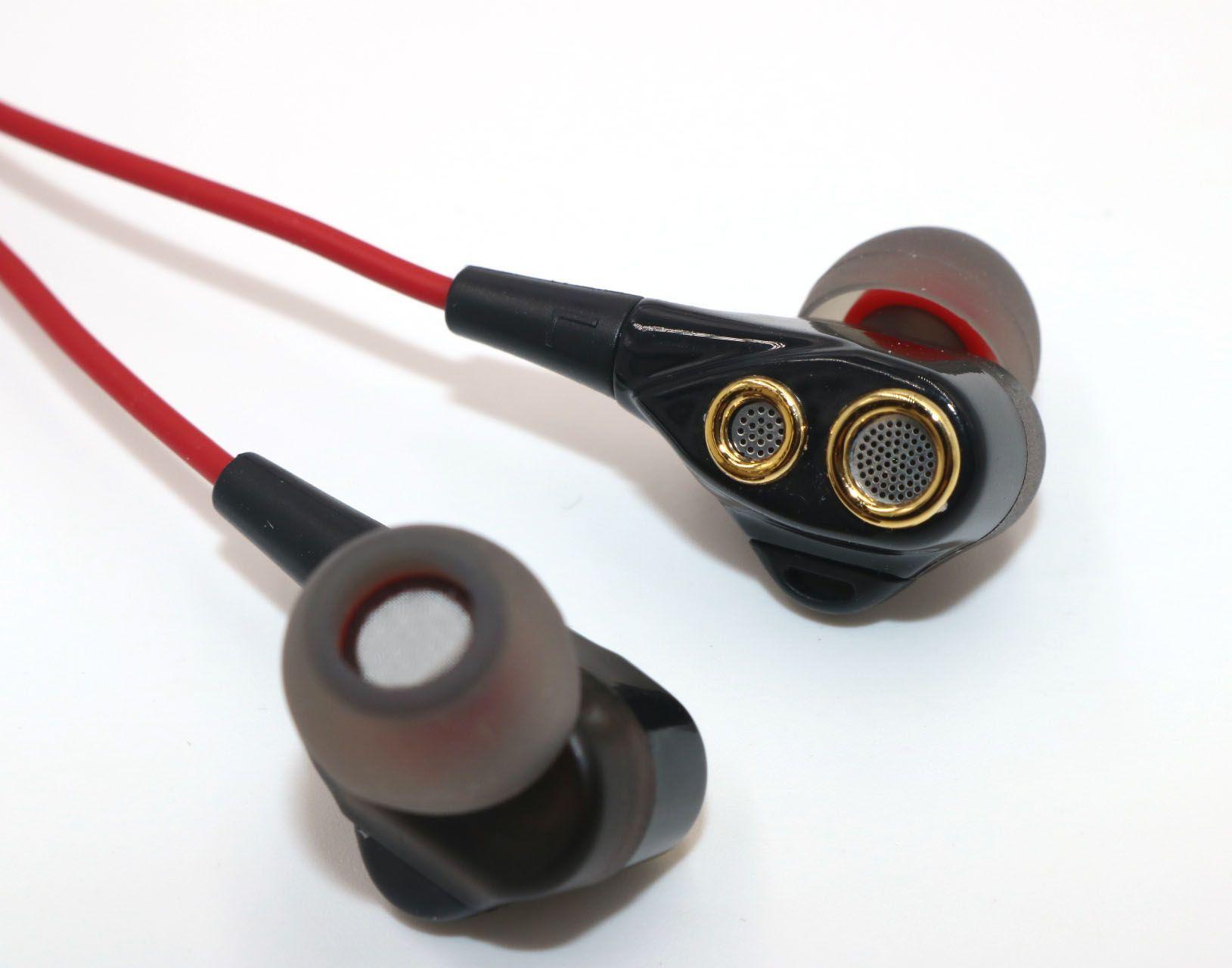 Yeni Casim Kulak Kulaklık Handsfree Kulaklık Kulaklık Uzaktan Ses Kontrolü ile iPhone Samsung Galaxy S8 3.5mm Dinamik Sürücüler Bass