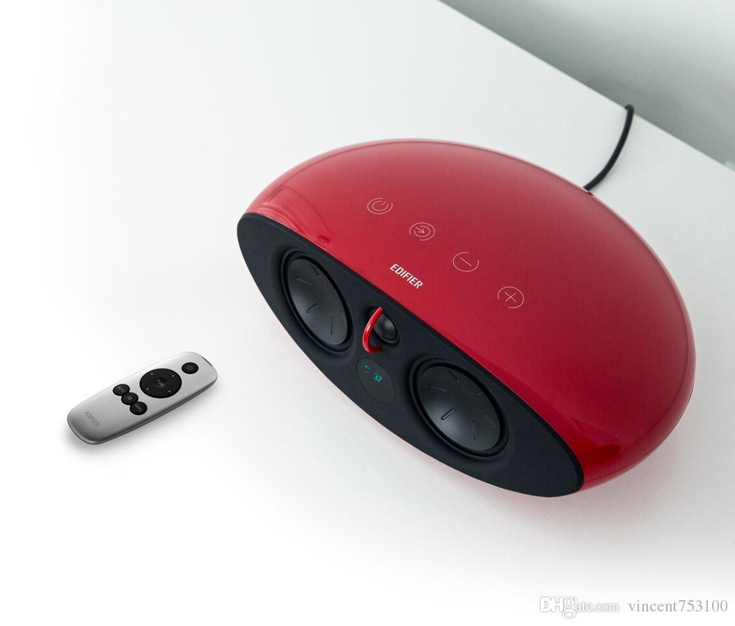 New Edifier e255 Sistema de cine en casa de sonido envolvente Luna E 5.1 - Altavoces posteriores inalámbricos Subwoofer -AUX Optical - Dolby / DTS Perfect