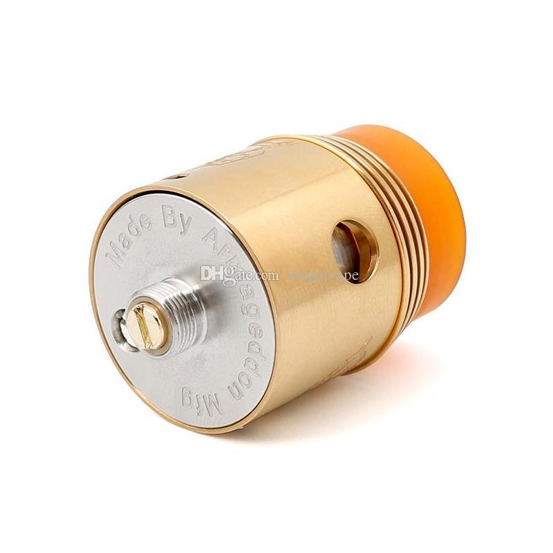 Date Rapture RDA Atomiseur Reconstructible Gouttes Atomisateurs Peek Isolateur Réglable Airflow Contrôle 3 Couleurs DHL Livraison Gratuite
