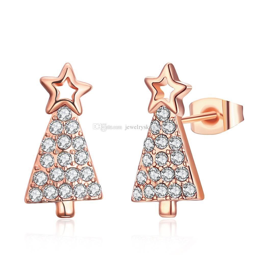christmas earrings tree product