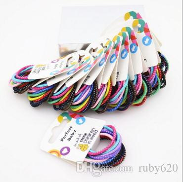 The New Rubber Band Girls All Match Hair Rope Elastic Rubber 10 Does Not  Damage The Hair Root 54a14ba80cd