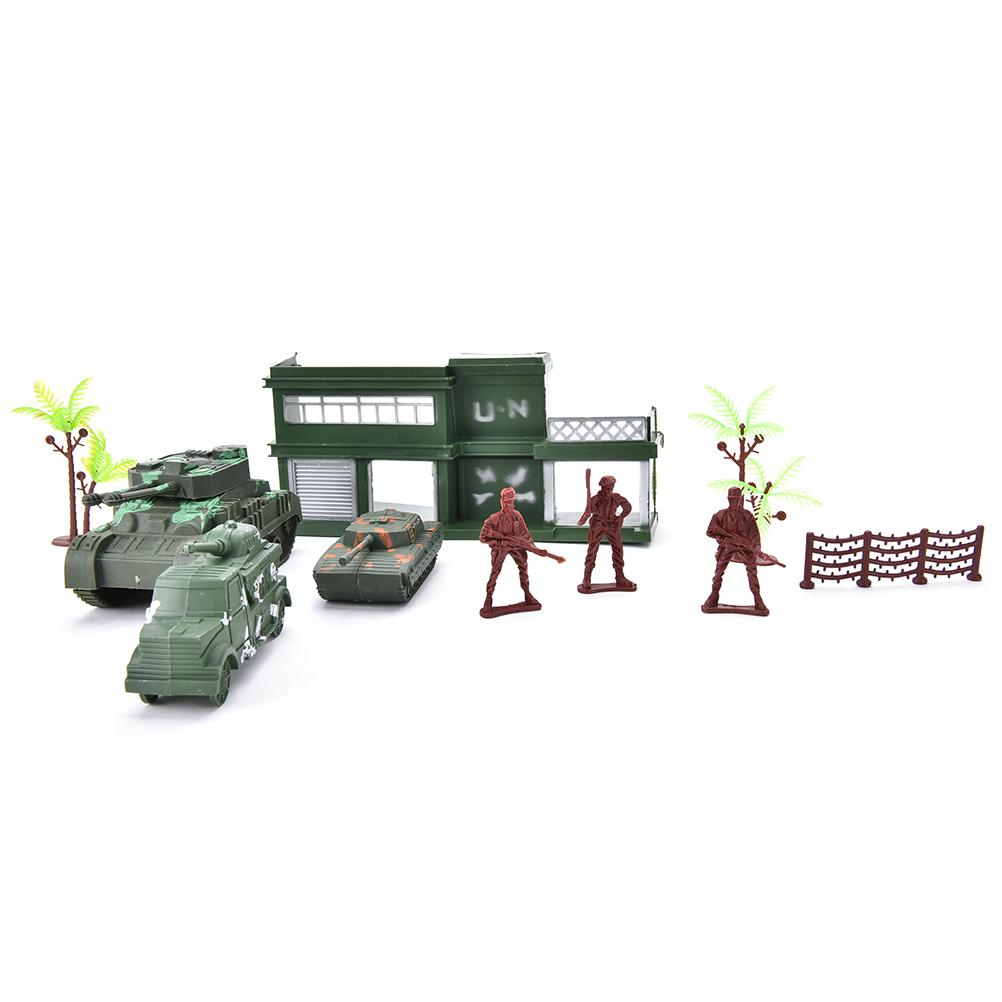 Action Figures Multi-colored mini military equipment plastic soldier model toys for boy best gift for kids