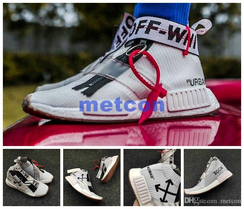 wholesale off white x adidas nmd city sock footwear 92fee c3c1c