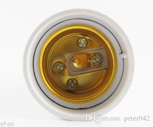 G24 Male to E27 Female Socket Base LED Halogen CFL Light Bulb Lamp Adapter