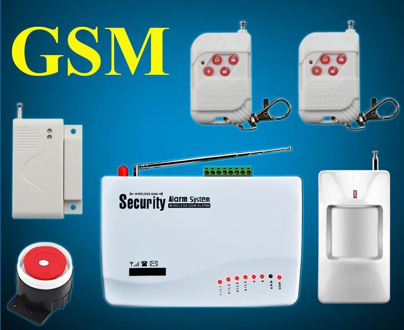 Wireless Home Office House Pir Security Burglar Gsm Alarm System ...