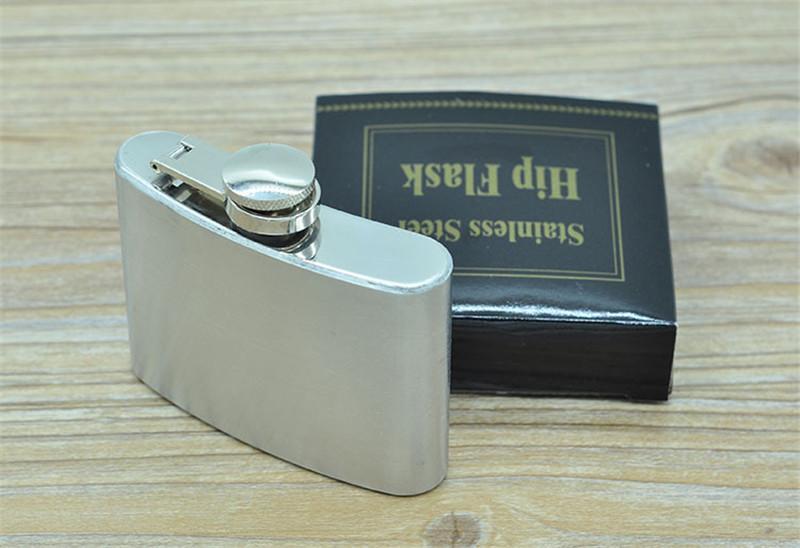 4oz Edelstahl Flachmann tragbare Taschenflaschen Minil Getränk Alkohol Weinflasche Whisky Tasche Flagons Bar Taschenflasche Set 240404